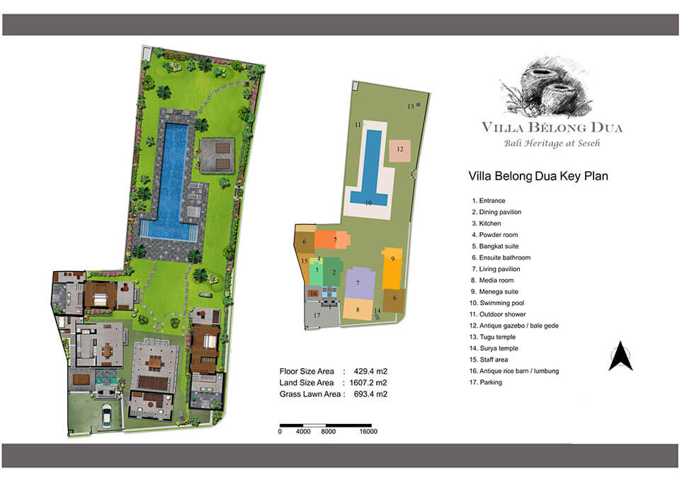 Villa Belong Dua  Seseh 2 bedroom private villa Bali